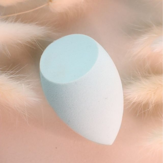 Blending Sponge Diagonal - Light Blue